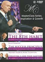 MasterClass Series: Stephen R. Covey, Jack Canfield, Stewart Emery & Mark Thompson (3 dvd's)