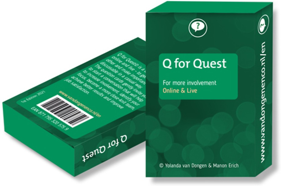 Q for Quest. For more involvement.
