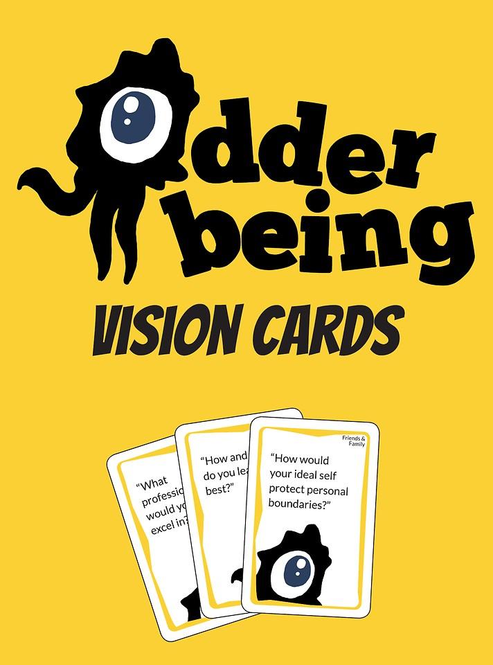 Odder Being Vision Card Deck
