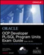 OCP Developer PL/SQL Program Units Exam Guide [Exam 1Z0-101] (1e druk 2003)