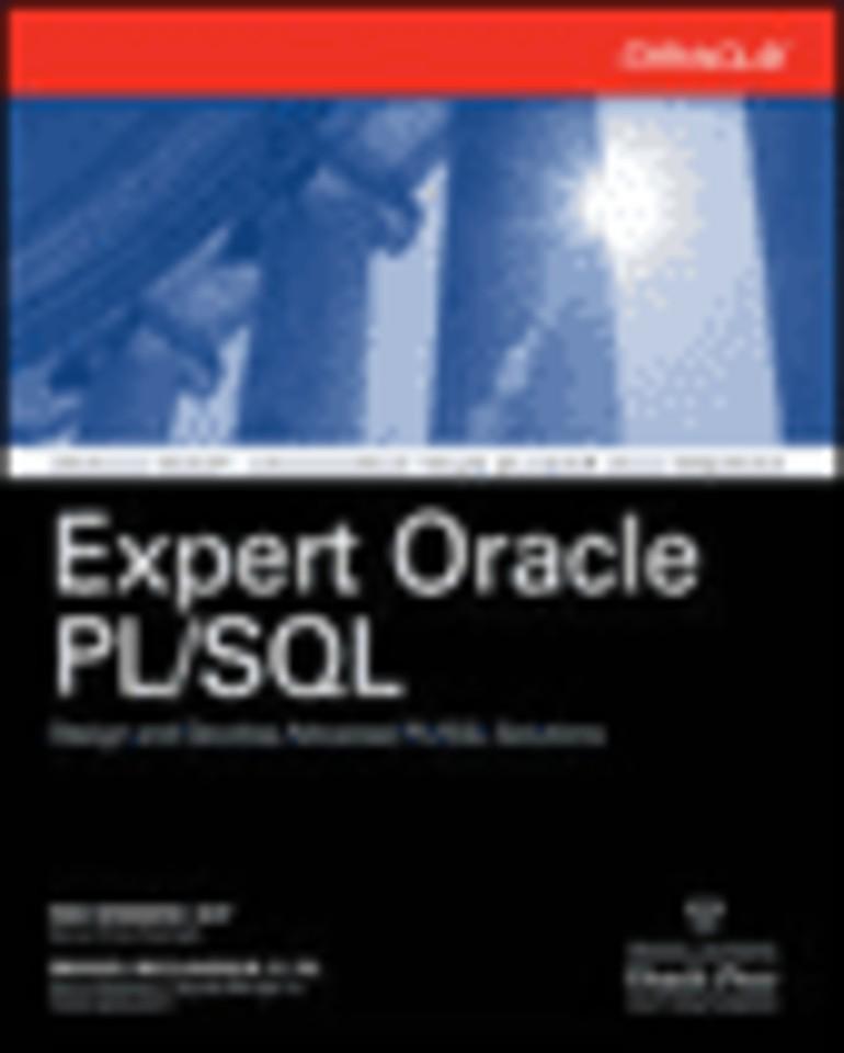 Expert Oracle PL/SQL