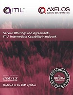 Service offerings and agreements ITIL intermediate capability handbook (single copy)