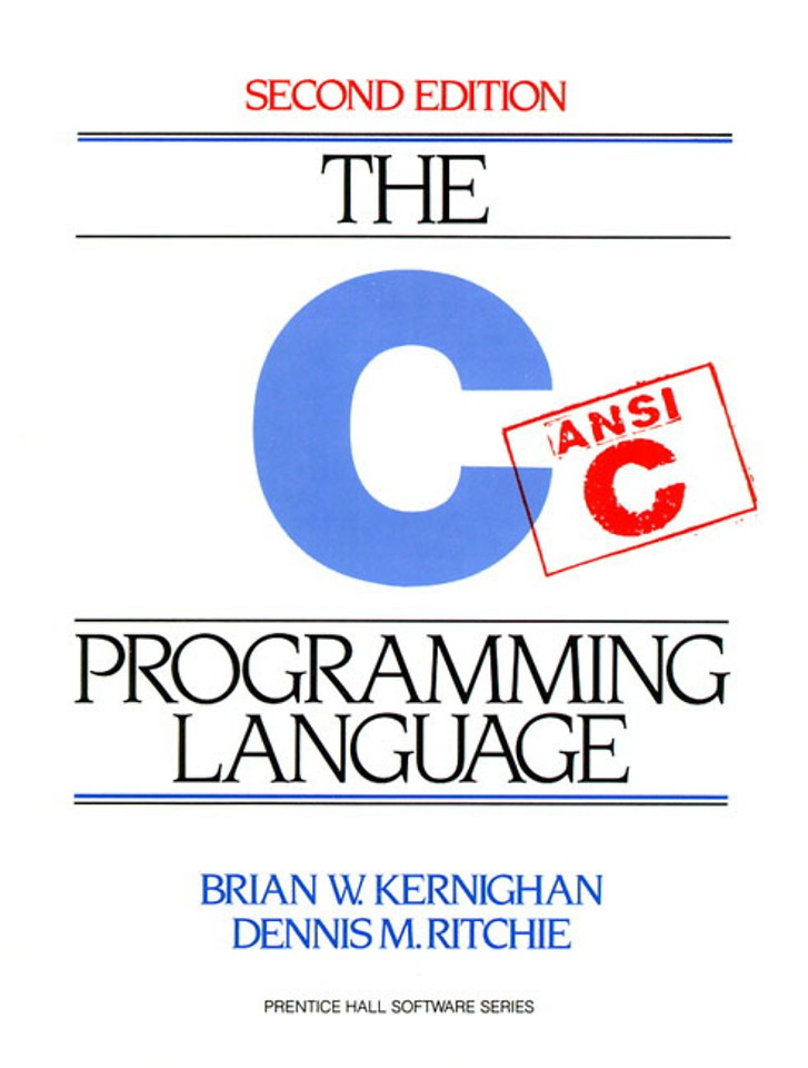 C Programming Language , 2nd Edition