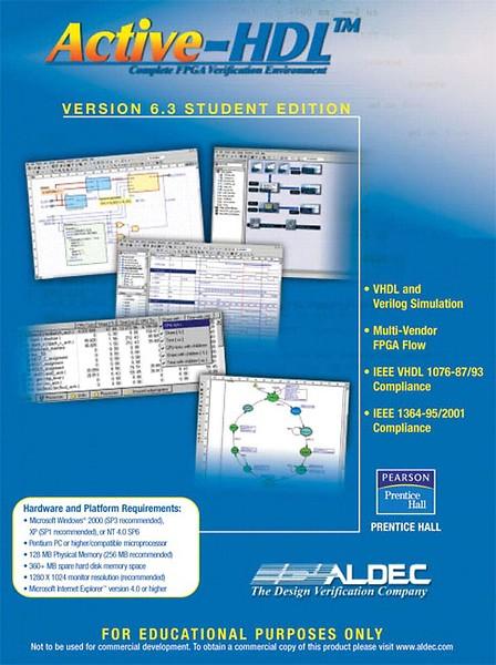 9780131866973: active-hdl 6. 3 student edition abebooks aldec.