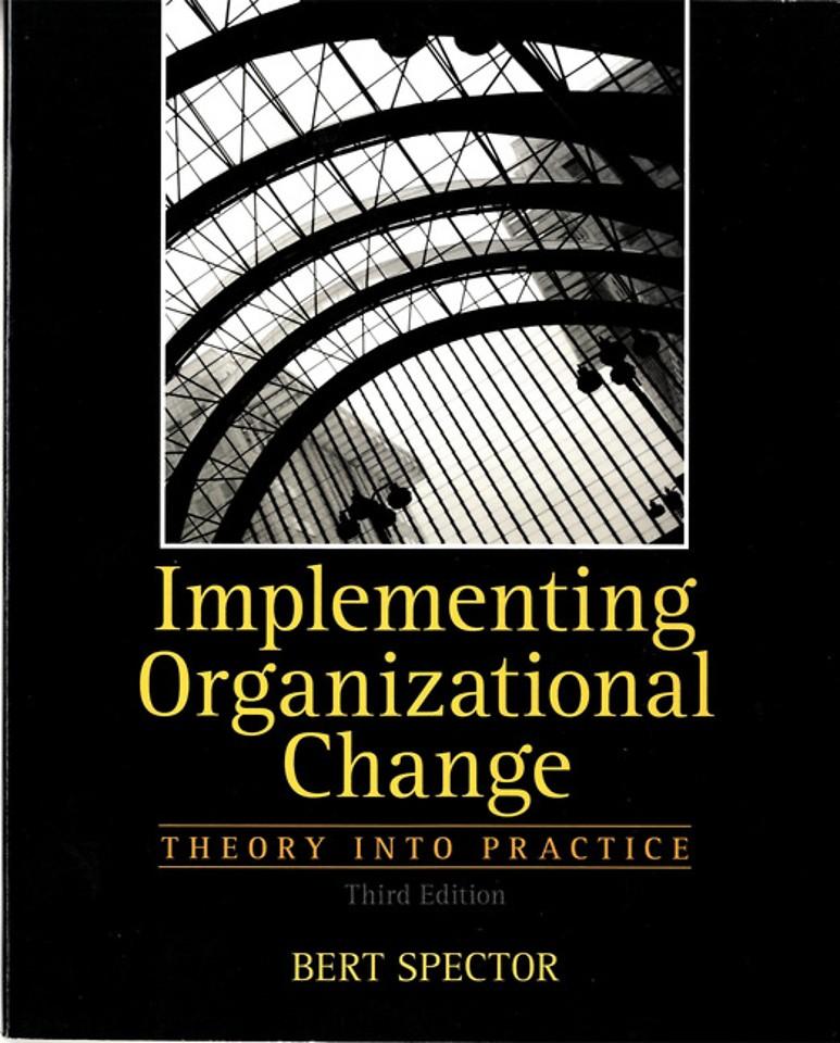 Implementing Organizational Change
