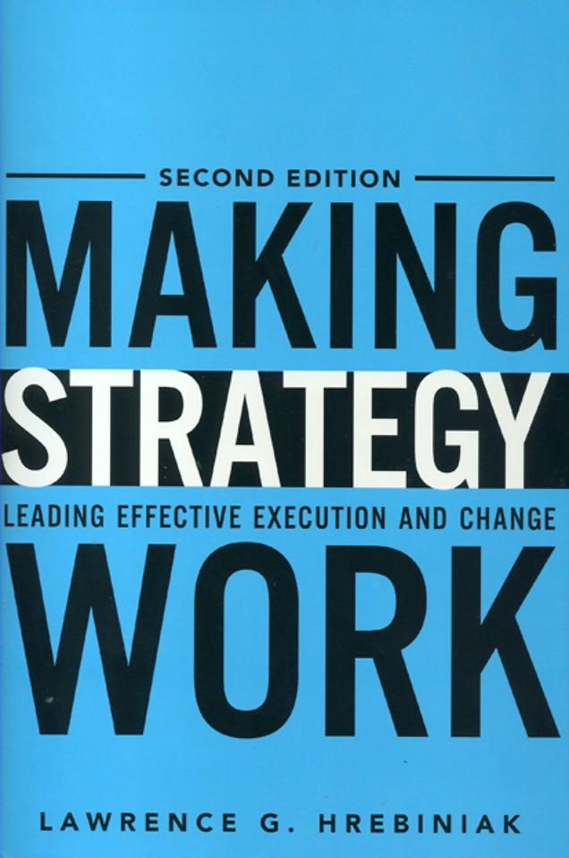 Making Strategy Work