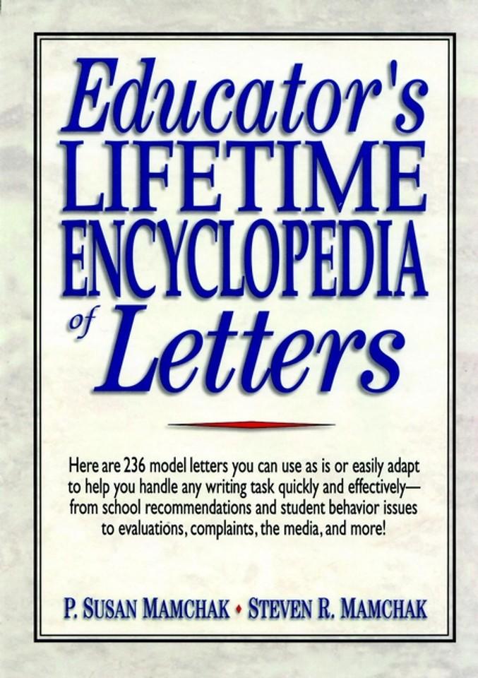 Educator′s Lifetime Encyclopedia of Letters