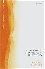 Civil Wrongs and Justice in Private Law