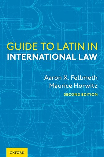 Guide to Latin in International Law