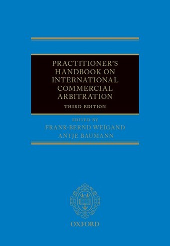Practitioner's Handbook on International Commercial Arbitration