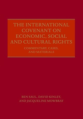 The International Covenant on Economic, Social and Cultural Rights