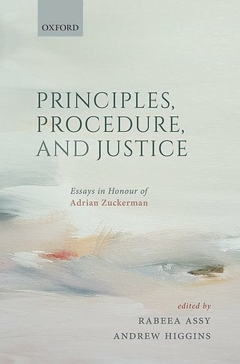 Principles, Procedure, and Justice