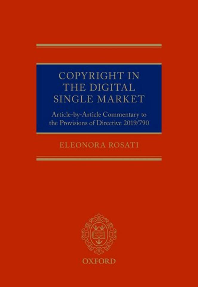 Copyright in the Digital Single Market