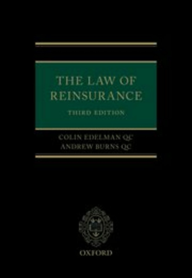 The Law of Reinsurance