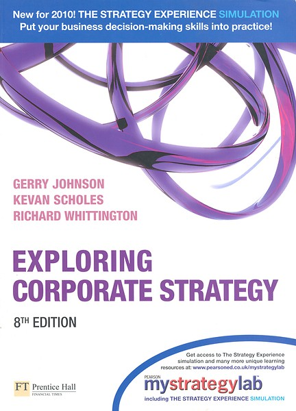 samenvatting johnson scholes Contemporary strategy development is a multi-activity process, which requires input from a variety of people within the organisation who come from different backgrounds and disciplines (hodgkinson et al, 2005 stenfors, 2007.