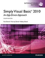 Simply Visual Basic 2010 - An App-Driven Approach