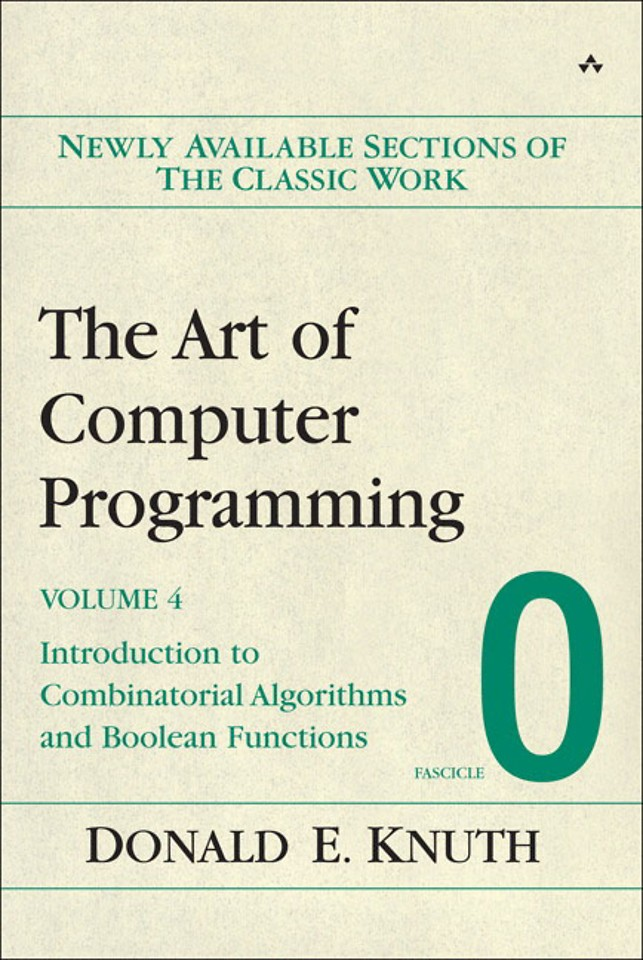 The Art of Computer Programming Volume 4 - Fascicle 0: Introdcution to Combinatorial Algorithms and Boolean Functions