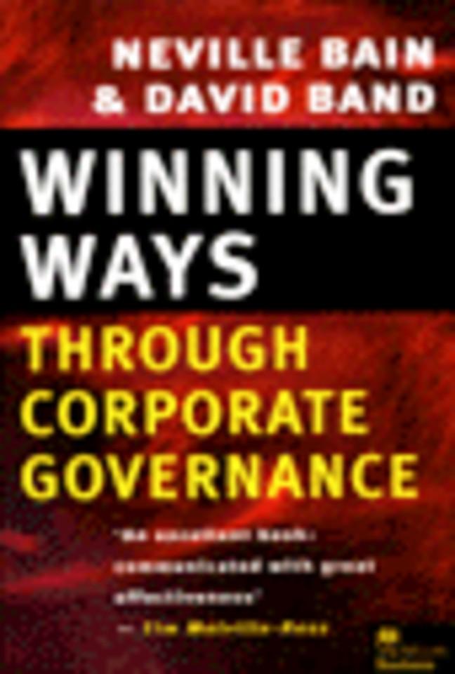 Winning Ways Through Corporate Governance