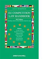 EU Competition Law Handbook 2017