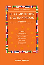 EU Competition Law Handbook 2018