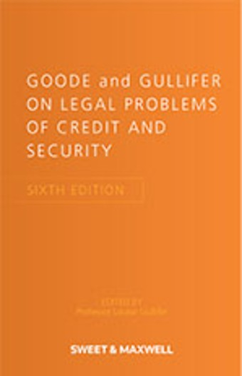 Goode and Gullifer on Legal Problems of Credit and Security