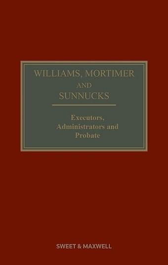 Williams, Mortimer and Sunnucks - Executors, Administrators and Probate