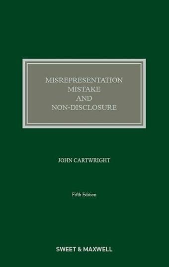 Misrepresentation, Mistake and Non-Disclosure