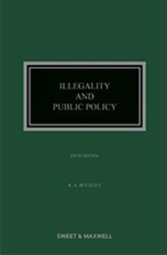 Illegality and Public Policy