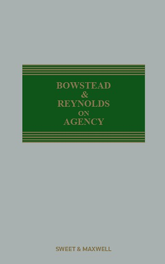 Bowstead and Reynolds on Agency