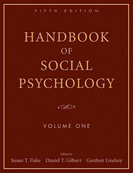 handbook of social psychology pdf
