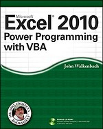 Microsoft Office Excel 2010 Power Programming with VBA