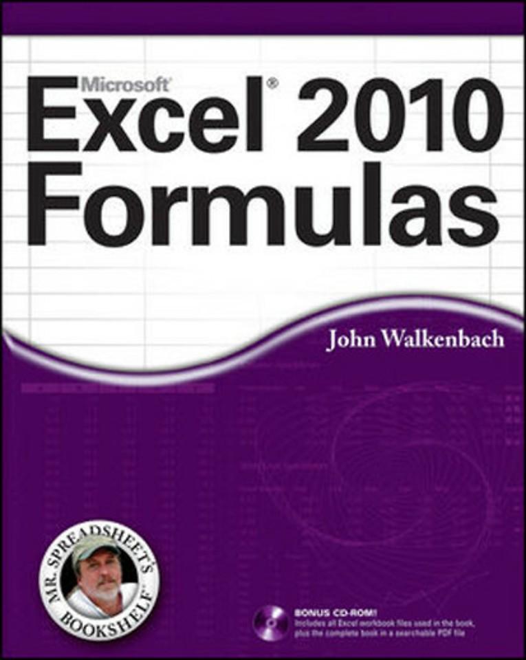 Microsoft Office Excel 2010 Formulas