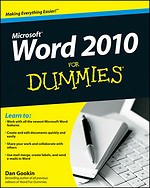 Microsoft Word 2010 for Dummies