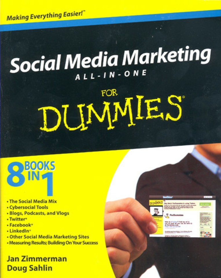 Social Media Marketing for Dummies - All in One