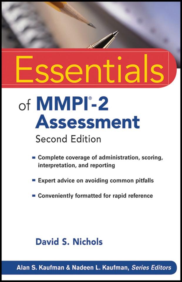Essentials of MMPI–2 Assessment