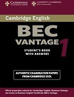 Cambridge BEC Vantage 1