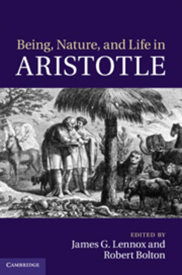 Being, Nature, and Life in Aristotle