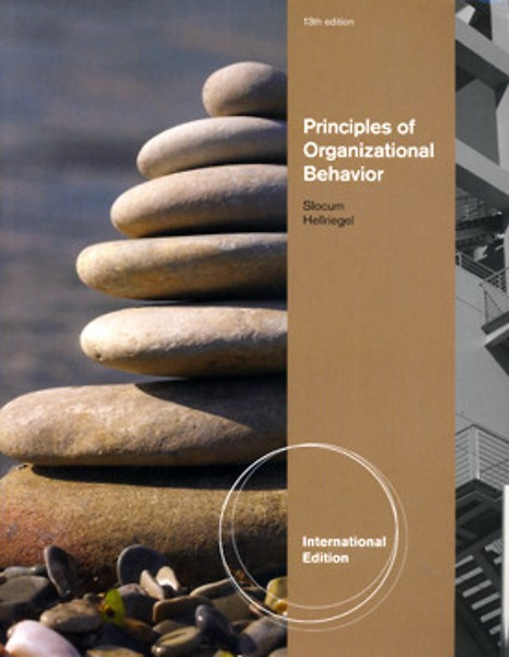 principles of organizational behavior Principles of organizational behavior by john w slocum, 9780324581157, available at book depository with free delivery worldwide.