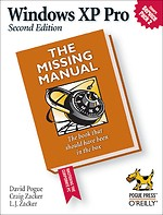 Windows XP Pro: The Missing Manual, 2nd Edition