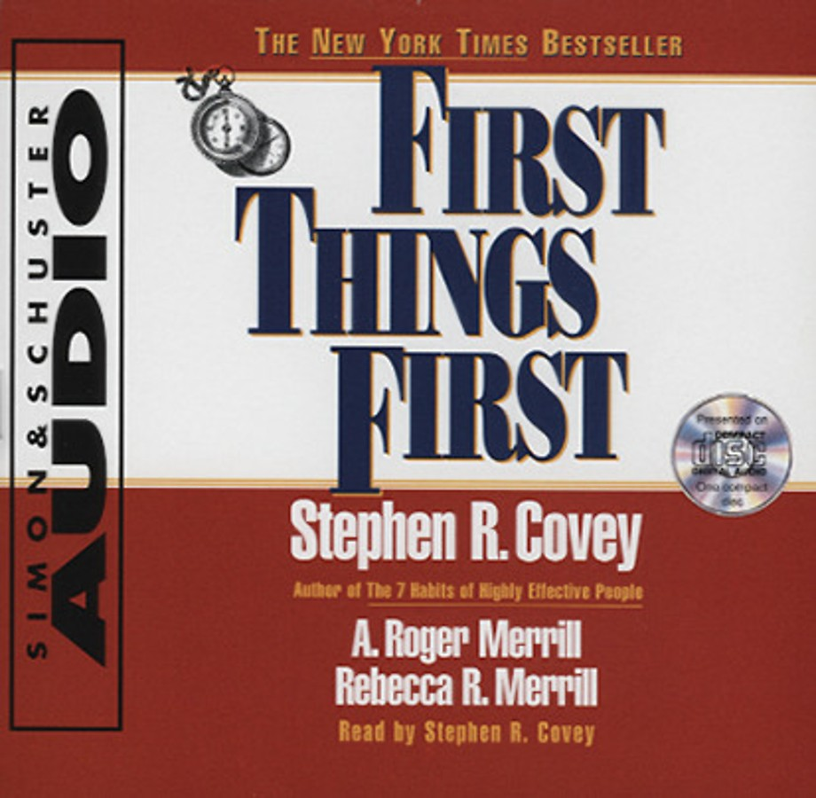 First Things First (1 audio-cd)