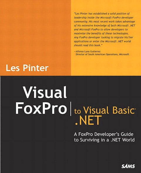 Visual FoxPro to Visual Basic  NET (Engels)