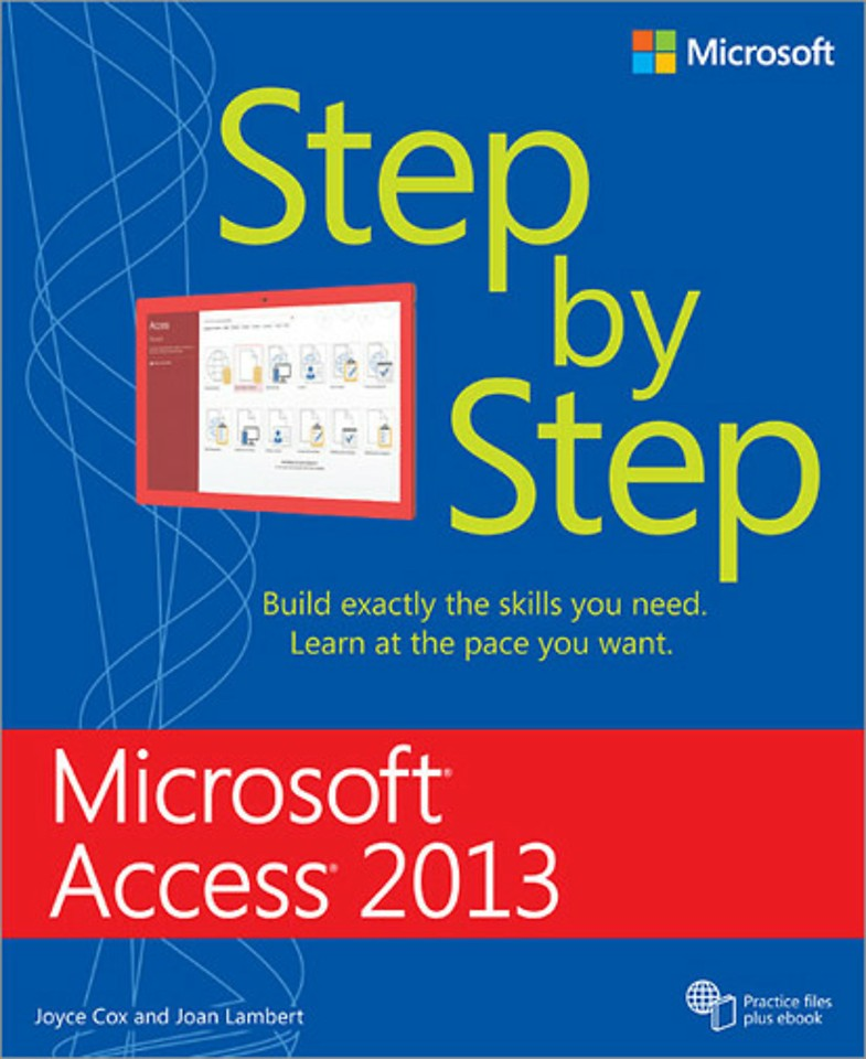 Microsoft Access 2013 - Step by Step