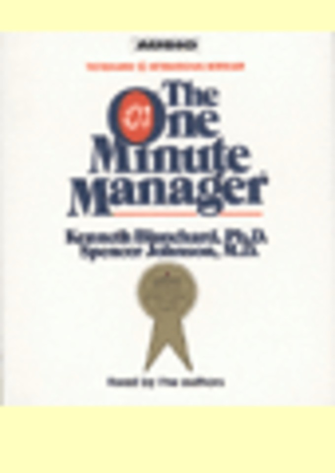 The One Minute Manager (2 audio-cd's)
