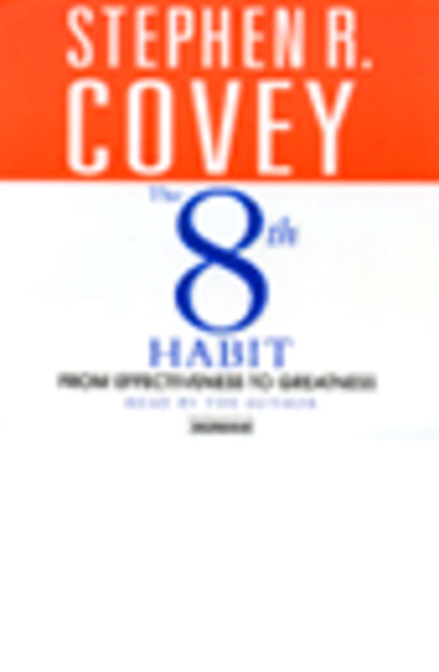 The 8th Habit (1 audio-cd)
