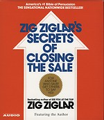 Zig Ziglar's Secrets of Closing the Sale (4 audio-cd's)