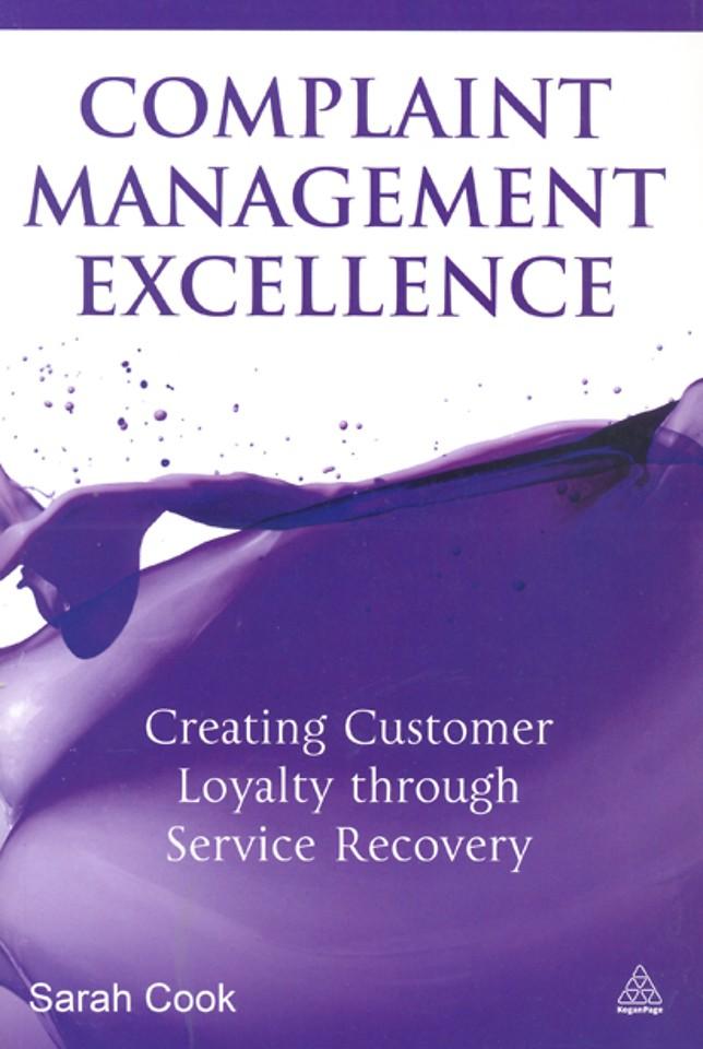 Complaint Management Excellence
