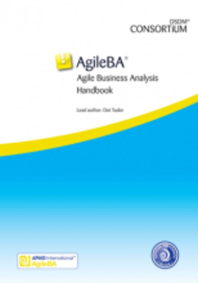 AgileBA® Agile Business Analysis Handbook
