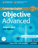 Objective Avanced Student's Book with answers with cd-rom