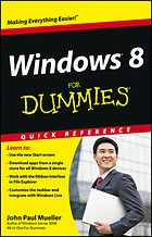 Windows 8 for Dummies: Quick Reference (Engels)