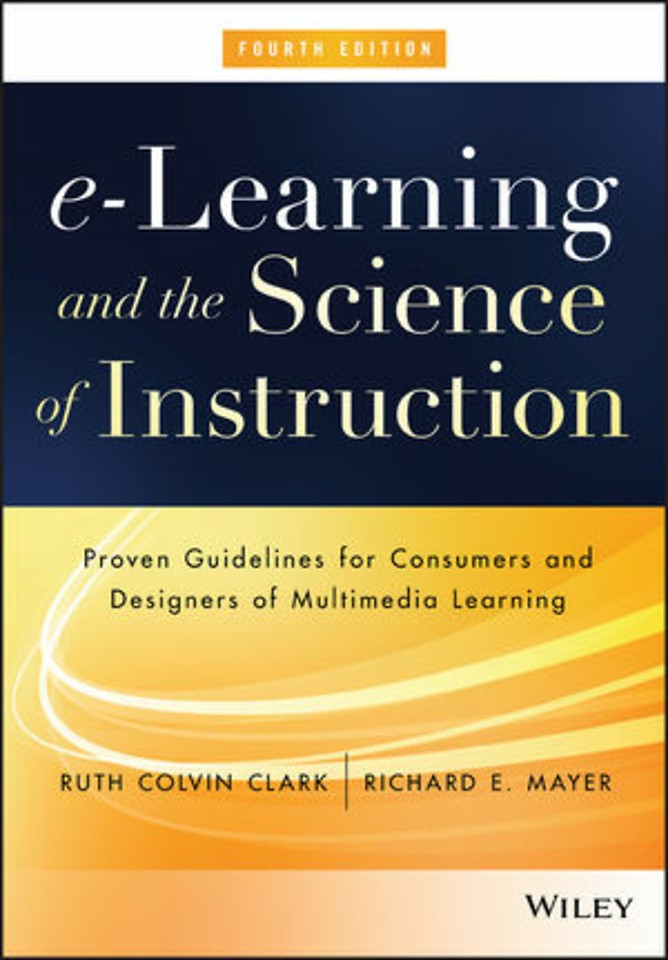 e–Learning and the Science of Instruction